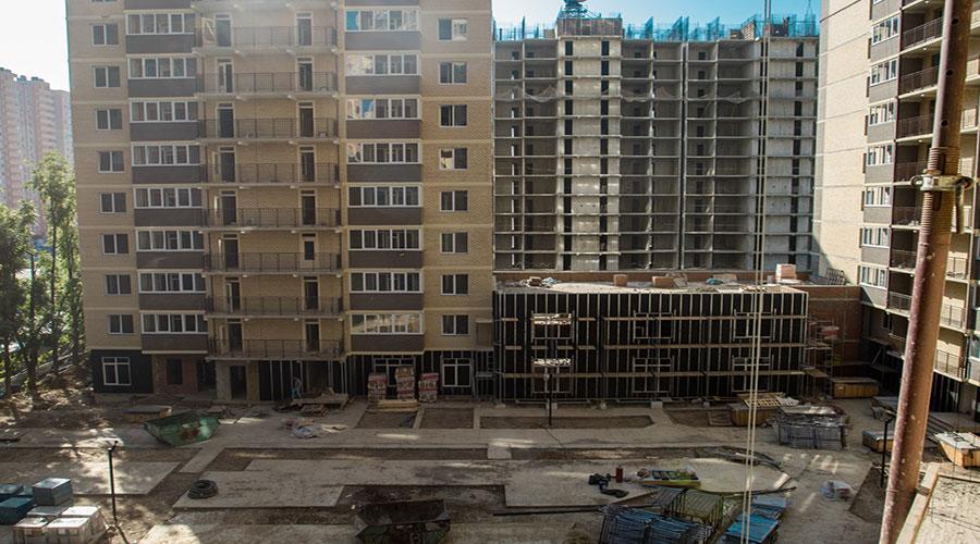 Отчет о строительстве ЖК «Свобода», октябрь, 2020г.