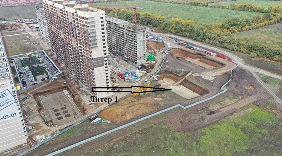 Отчет о строительстве ЖК «Улыбка», октябрь, 2020г.