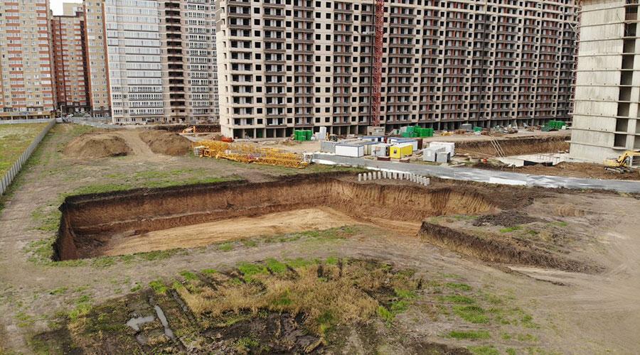 Отчет о строительстве ЖК «Улыбка», сентябрь, 2020г.