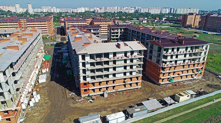 Отчет о строительстве ЖК «ВиноградЪ», август, 2020г.