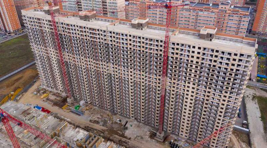 Отчет о строительстве ЖК «Абрикосово», ноябрь, 2020г.