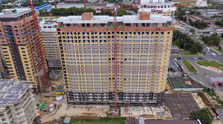 Отчет о строительстве ЖК «Элегант», ноябрь, 2020г.