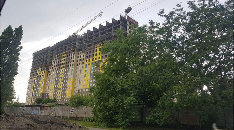 Отчет о строительстве ЖК «Гарантия на Дежнева», ноябрь, 2020г.
