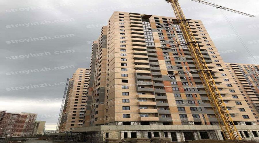 Отчет о строительстве ЖК «Квартет», ноябрь, 2020г.