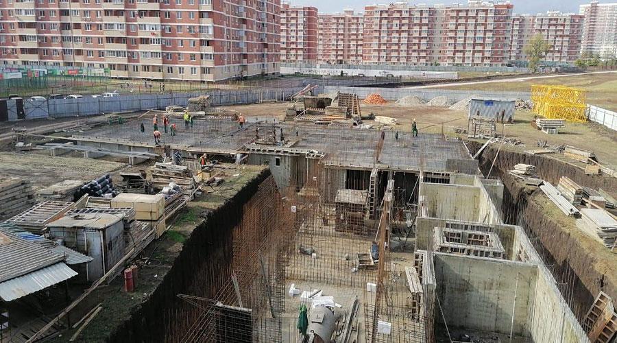 Отчет о строительстве ЖК «Облака», октябрь, 2020г.