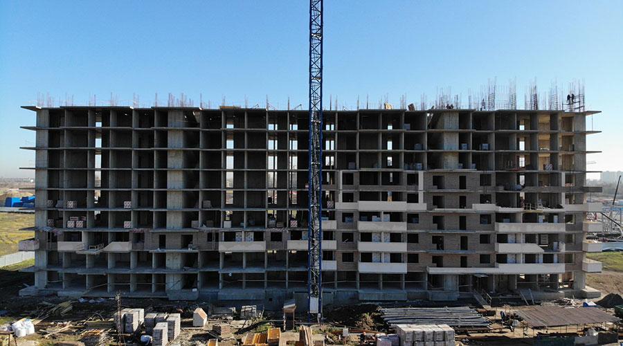 Отчет о строительстве ЖК «Отражение», ноябрь, 2020г.