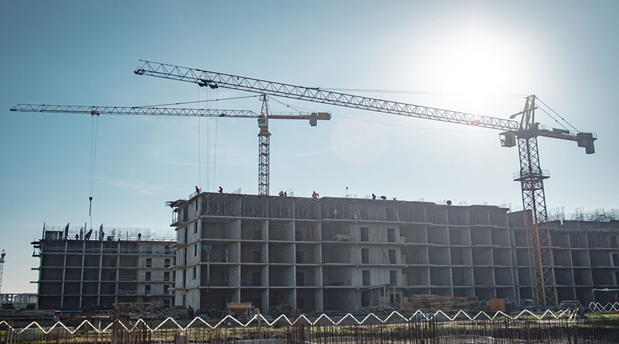 Отчет о строительстве ЖК «Ракурс», ноябрь, 2020г.