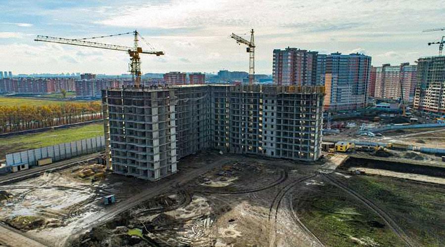 Отчет о строительстве ЖК «Самолет 2», ноябрь, 2020г.