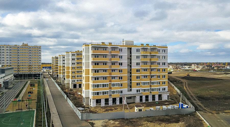 Отчет о строительстве ЖК «Светлоград», ноябрь, 2020г.