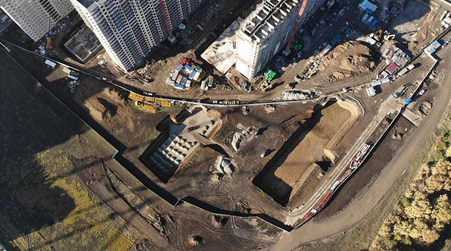 Отчет о строительстве ЖК «Улыбка», ноябрь, 2020г.