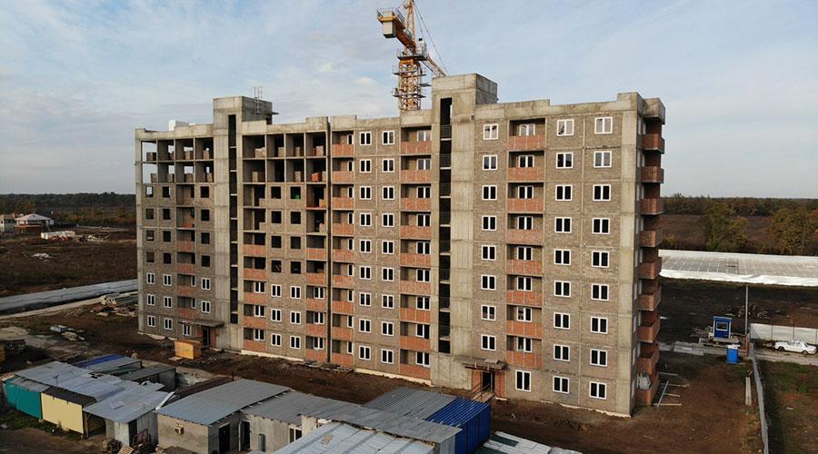 Отчет о строительстве ЖК «Южане», ноябрь, 2020г.