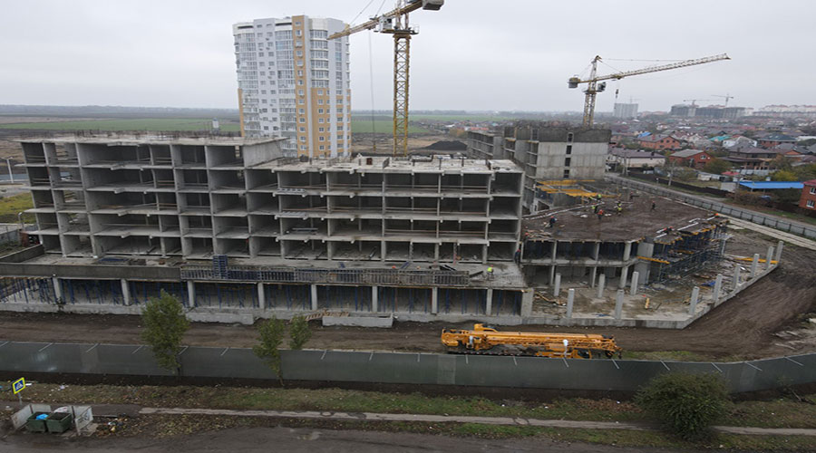 Отчет о строительстве ЖК «Зеленодар», ноябрь, 2020г.