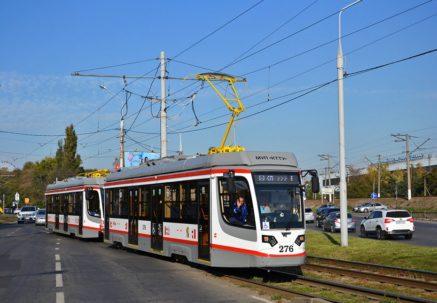В Краснодаре строят трамвайную линию в новый микрорайон