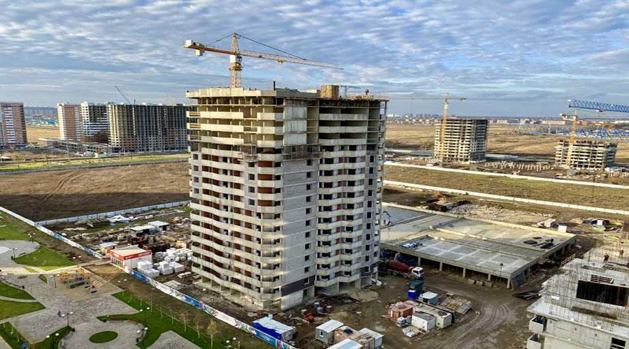 Отчет о строительстве ЖК «Дружный», декабрь, 2020г.