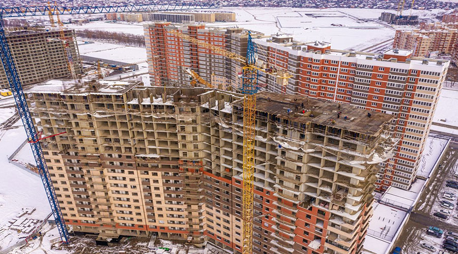 Отчет о строительстве ЖК «Грани», декабрь, 2020г.