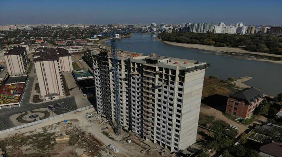 Отчет о строительстве ЖК «Мега Победа», ноябрь, 2020г.