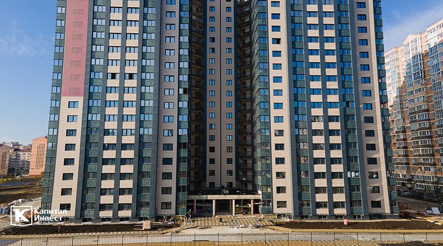 Отчет о строительстве ЖК «Олимп», ноябрь, 2020г.