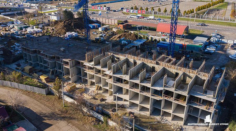 Отчет о строительстве ЖК «Олимпийский», ноябрь, 2020г.