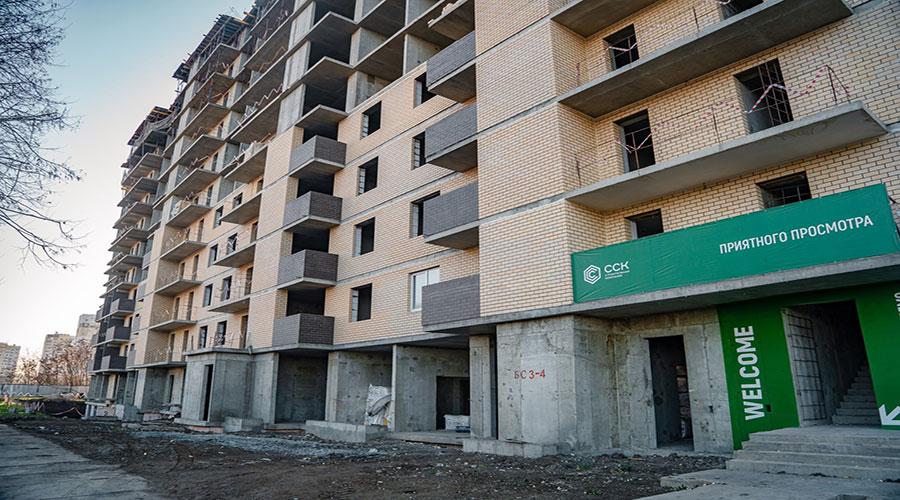 Отчет о строительстве ЖК «Открытие», декабрь, 2020г.