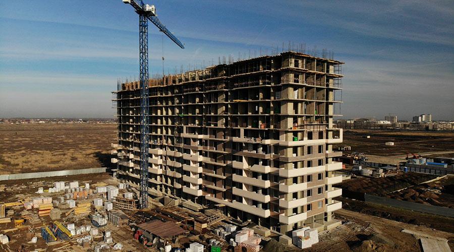 Отчет о строительстве ЖК «Отражение», декабрь, 2020г.