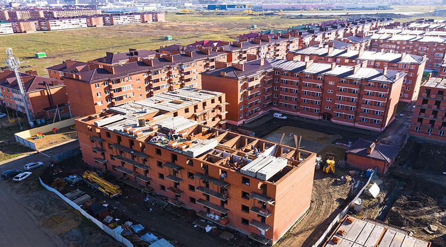 Отчет о строительстве ЖК «Родной дом», ноябрь, 2020г.