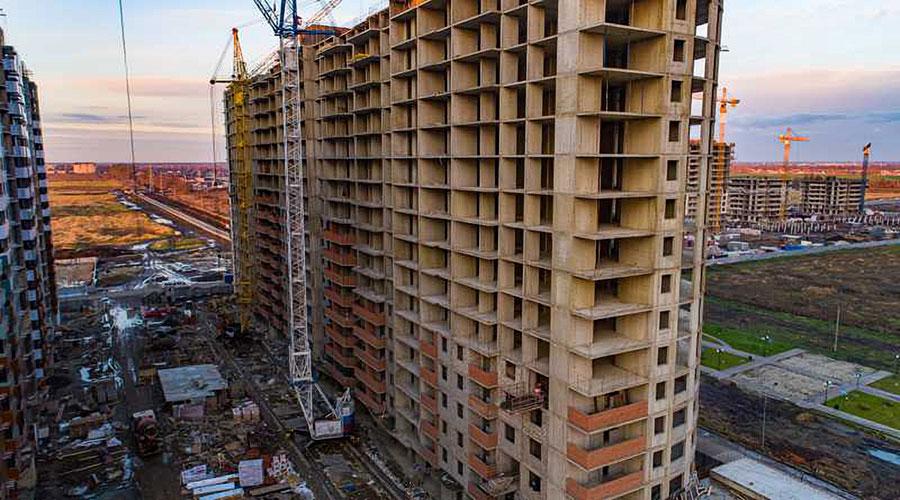 Отчет о строительстве ЖК «Россинский Парк», декабрь, 2020г.