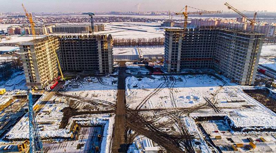 Отчет о строительстве ЖК «Самолет 2», декабрь, 2020г.