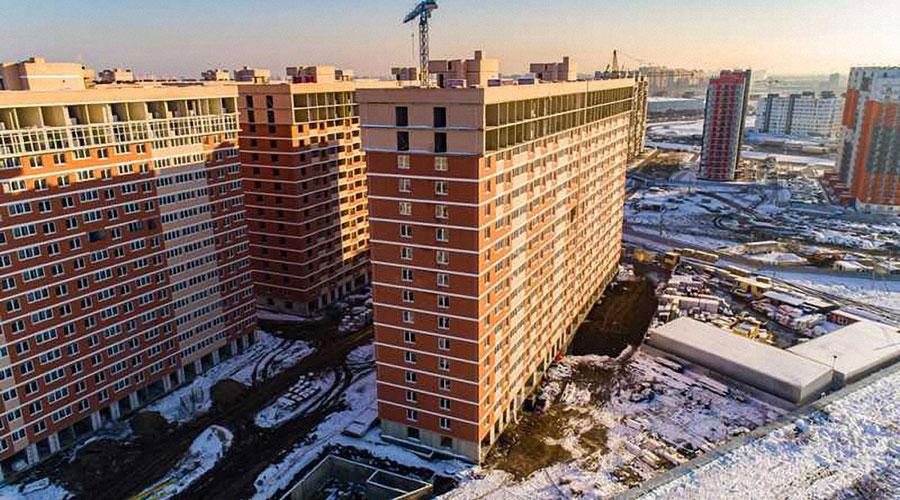Отчет о строительстве ЖК «Самолет», декабрь, 2020г.
