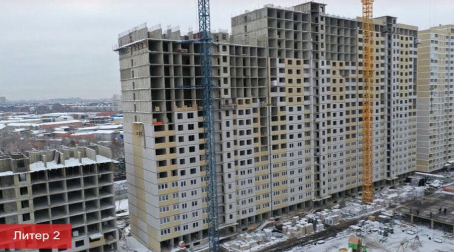 Отчет о строительстве ЖК «Славянка», декабрь, 2020г.