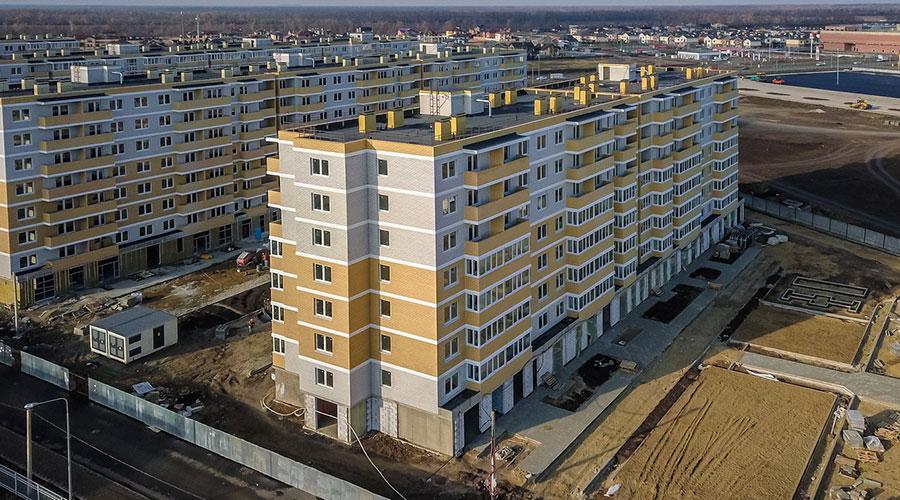Отчет о строительстве ЖК «Светлоград», декабрь, 2020г.