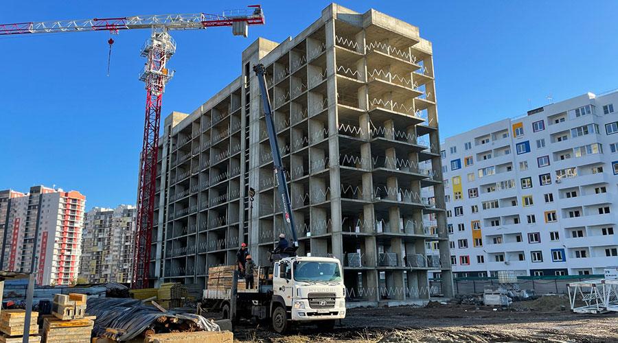 Отчет о строительстве ЖК «Южане», декабрь, 2020г.
