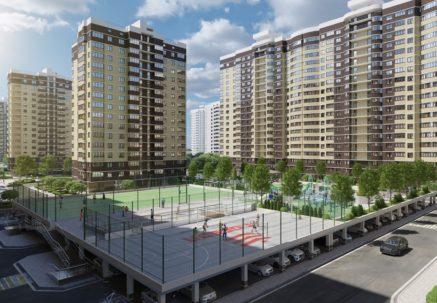 Обзор ЖК «Дружный 2» в Краснодаре: улучшенные планировки и скейт-парк