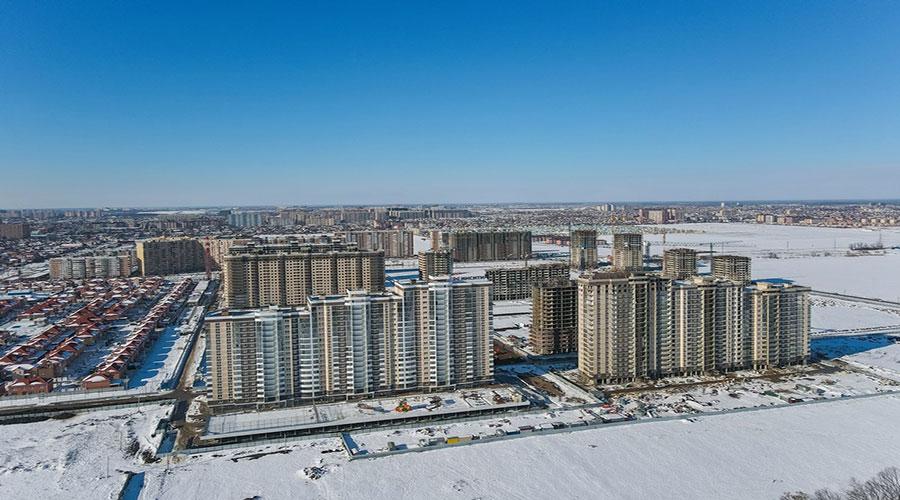 Отчет о строительстве ЖК «Атлант», январь, 2021г.