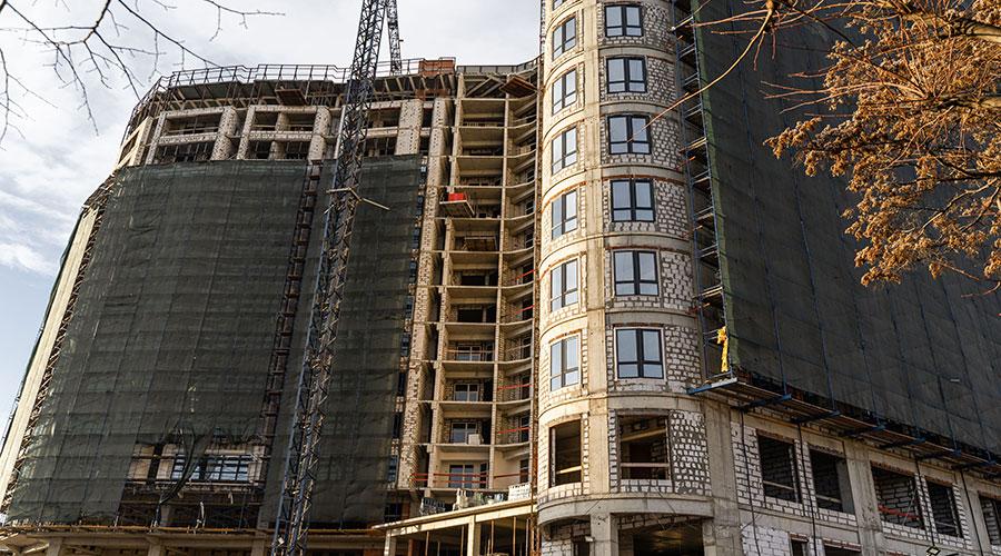 Отчет о строительстве ЖК «Development Plaza», январь, 2021г.