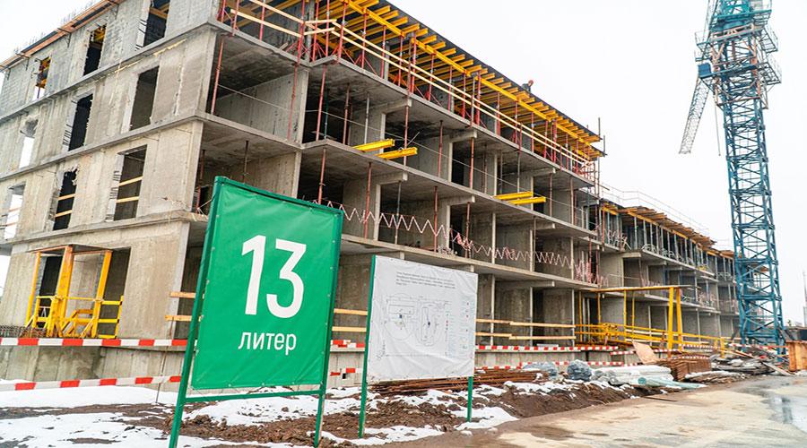 Отчет о строительстве ЖК «Дыхание», январь, 2021г.