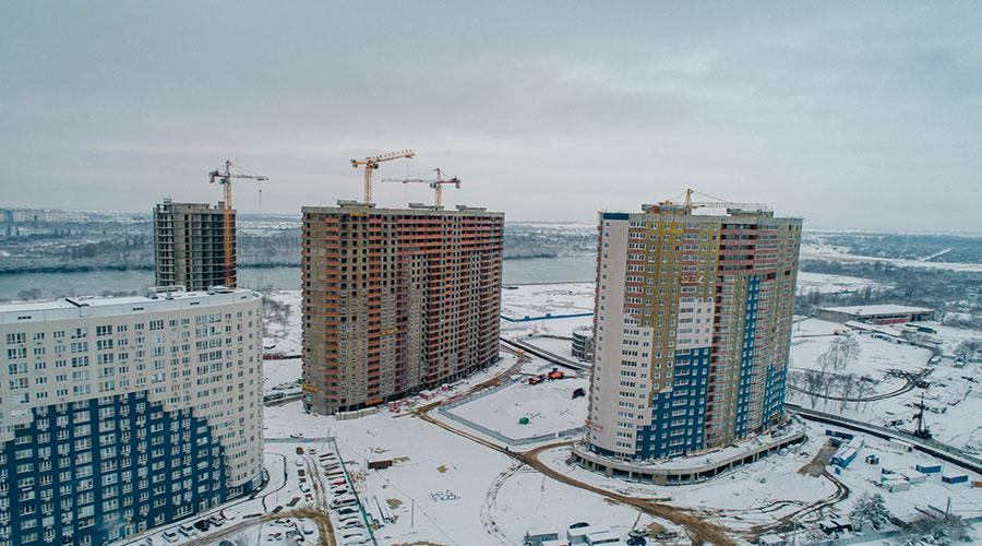 Отчет о строительстве ЖК «Фонтаны», январь, 2021г.