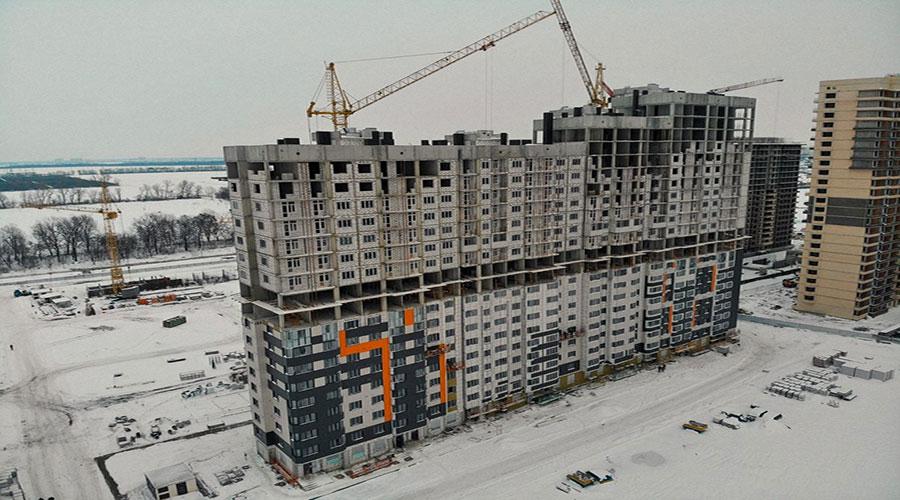 Отчет о строительстве ЖК «Губернский», январь, 2021г.