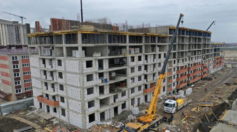 Отчет о строительстве ЖК «Краски», январь, 2021г.