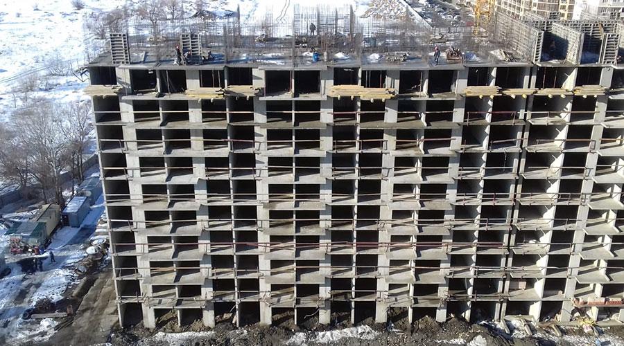 Отчет о строительстве ЖК «Мелодия», январь, 2021г.