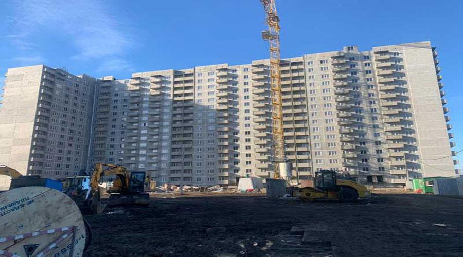 Отчет о строительстве ЖК «Молодежный», январь, 2021г.