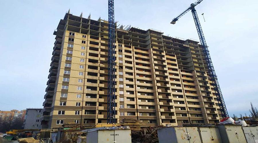 Отчет о строительстве ЖК «На Стахановской», январь, 2021г.