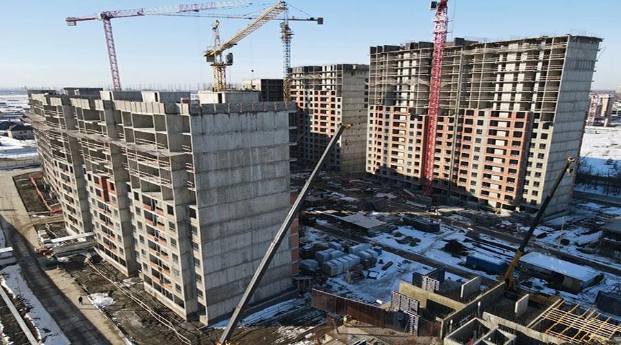 Отчет о строительстве ЖК «Novella», январь, 2021г.