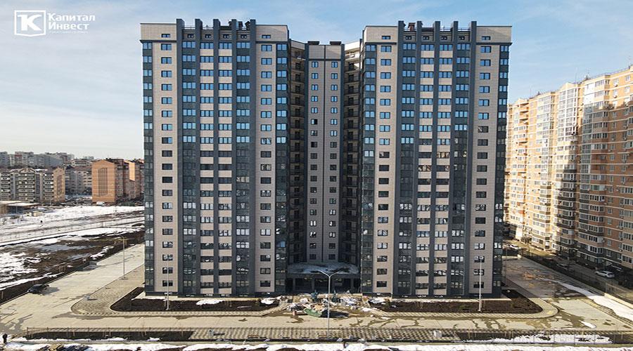Отчет о строительстве ЖК «Олимп», январь, 2021г.