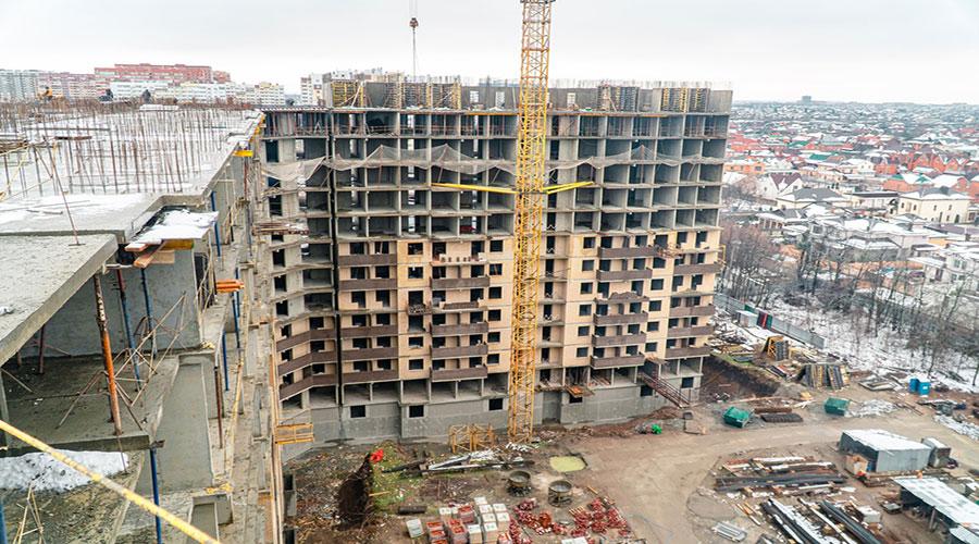 Отчет о строительстве ЖК «Открытие», январь, 2021г.