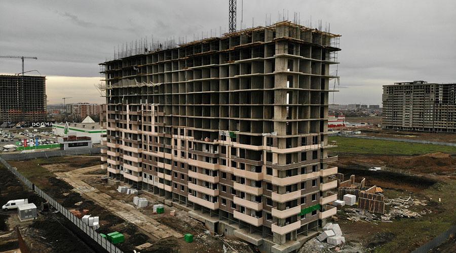 Отчет о строительстве ЖК «Отражение», январь, 2021г.
