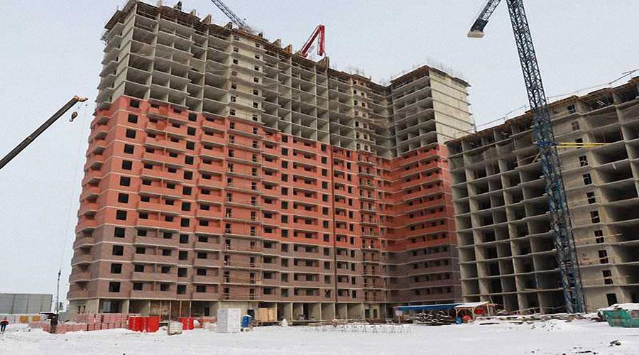 Отчет о строительстве ЖК «Парк Победы», январь, 2021г.