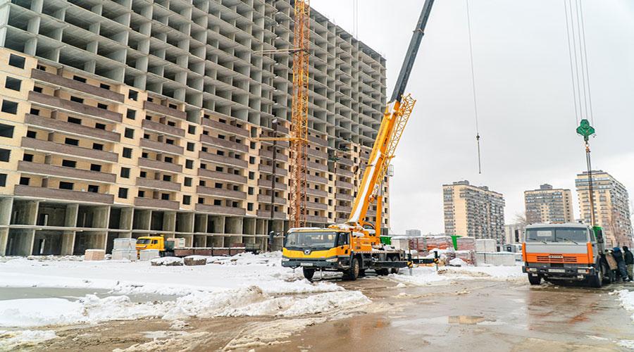 Отчет о строительстве ЖК «Поколение», январь, 2021г.