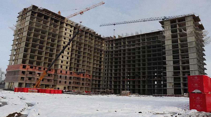 Отчет о строительстве ЖК «Самолет 2», январь, 2021г.