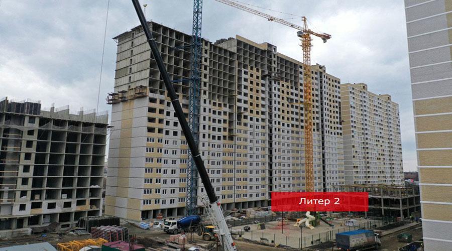 Отчет о строительстве ЖК «Славянка», январь, 2021г.