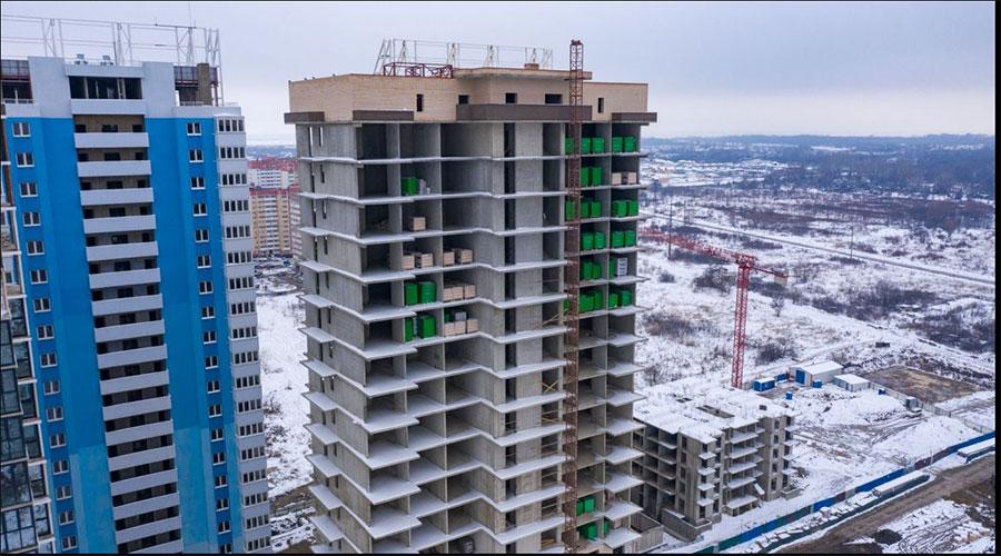 Отчет о строительстве ЖК «Fresh», январь, 2021г.